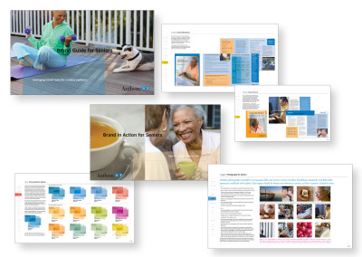 Anthem Blue Cross | Branding Guide for Senior Marketing