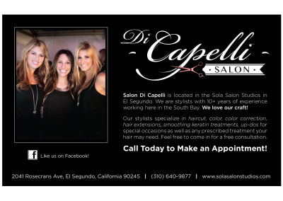 Ad for Southbay Magazine | Di Capelli Salon