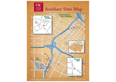USC Auxilliary Sites Map