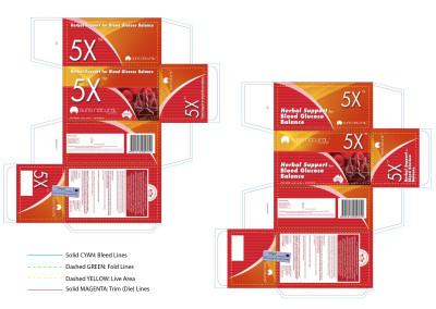 Suns 5X Box Die Lines