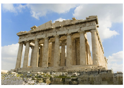 One of my own stock images of the Parthenon | After