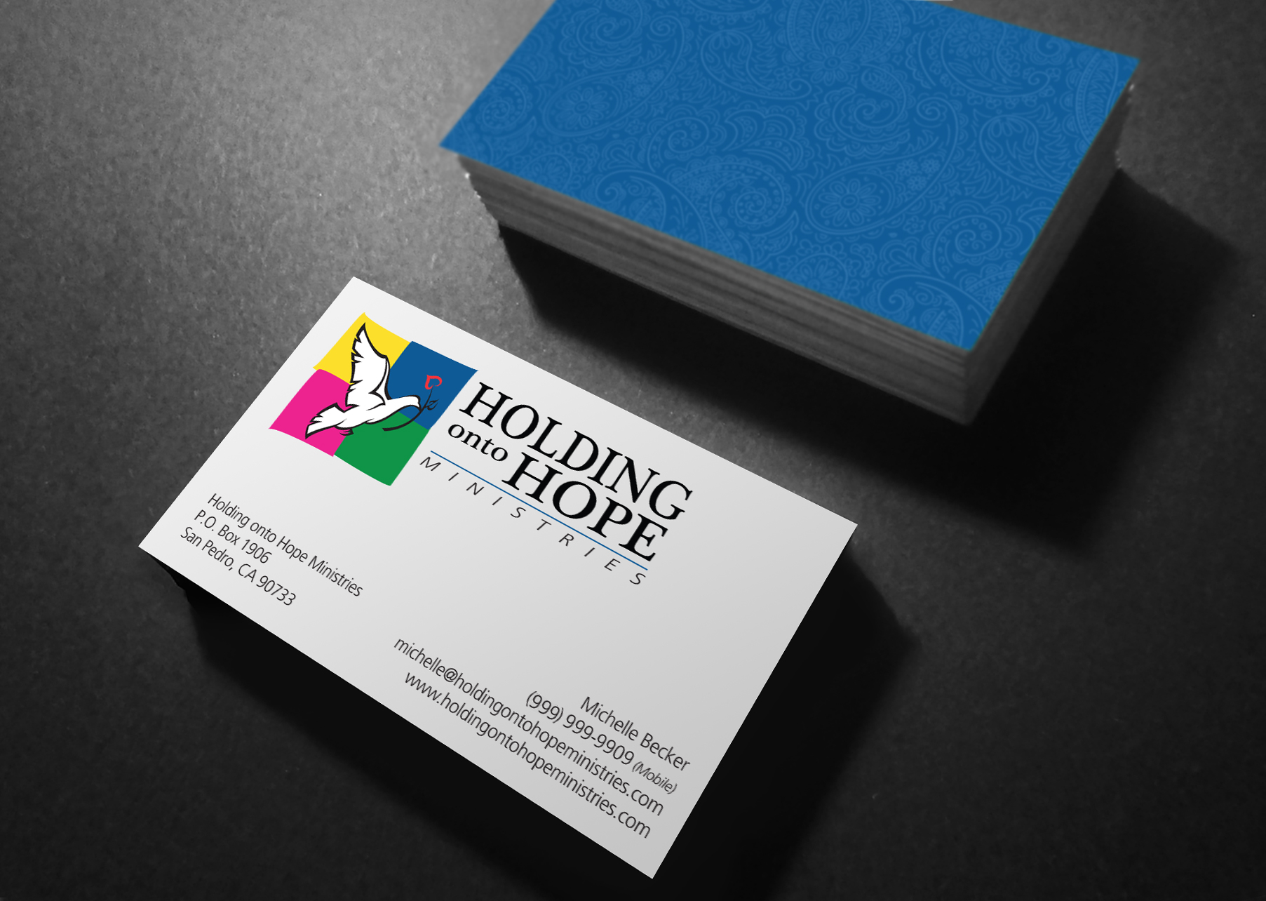 Business Cards | P Charles Fisher Design Studios