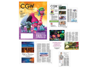 "One One of many issues of CGW Magazine I produced for Moon Tide Media | Click <a href= ""https://www.pcharlesfisher.com/Publishing/CGW_Sept-Oct2016.pdf"" target= ""blank"" font color=""#03b5ff"" >here</a> to view PDF"